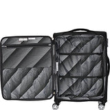 "It Luggage Megalite Fascia 21.5"" Expandable Carry-On Spinner Luggage - Ebags"