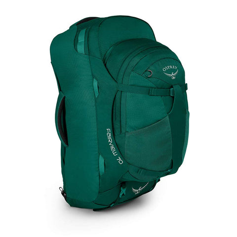 Osprey Packs Fairview 70 Women's Travel Backpack, Rainforest Green, Small/Medium