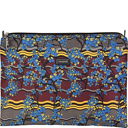 Hadaki Large Zippered Carry All (Forget Me Nots)