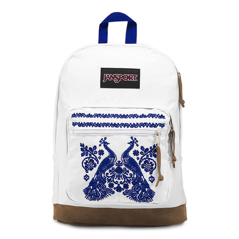 JanSport Right Pack Expressions Laptop Backpack - Peacock Plumes