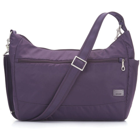 Pacsafe Women'S Citysafe Cs200 Anti-Theft Handbag - Mulberry Travel Cross-Body Bag, One Size
