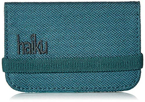 Haiku RFID Mini Wallet, Juniper