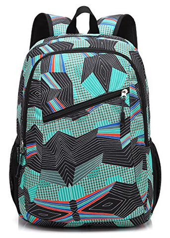 Scarleton Patterned School Backpack H203713 - Green
