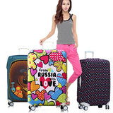 "Washable Elastic Luggage Protective Covers Fits 20/24/28 Inch Suitcase Baggage Cover (M(22-24""),"