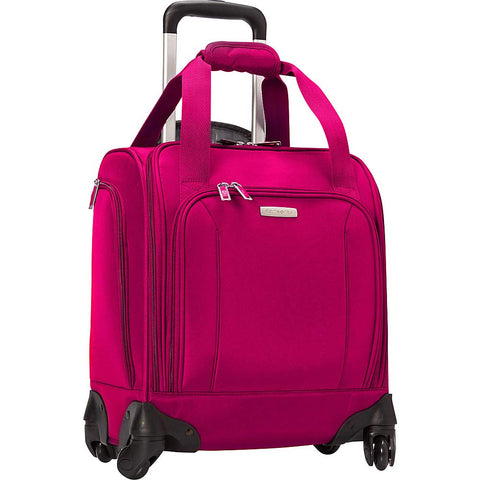 Samsonite Spinner Underseat with USB Port (Dark Pink)