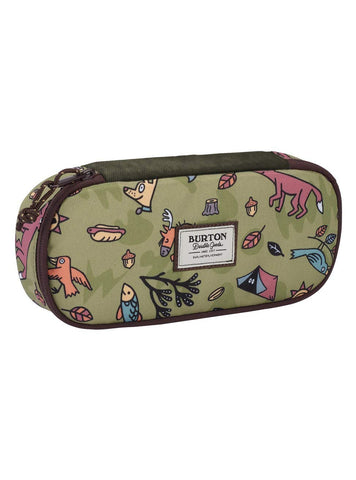 Burton SWITCHBACK CASE CAMPSITE CRITTERS Pencil Cases