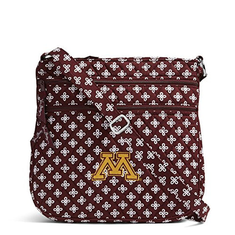Ncaa Minnesota Golden Gophers Women'S Triple Zip Hipster, Maroon/White, One Size