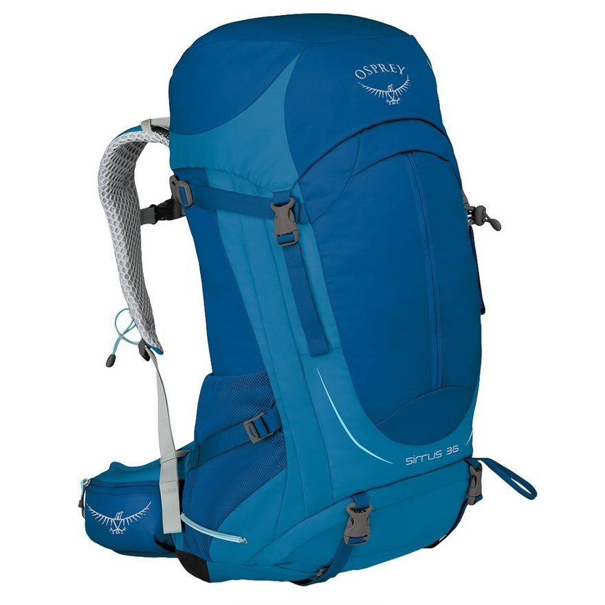 Osprey Packs Women's Sirrus 36 Backpack (2016 Model), Summit Blue, X-Small/Small