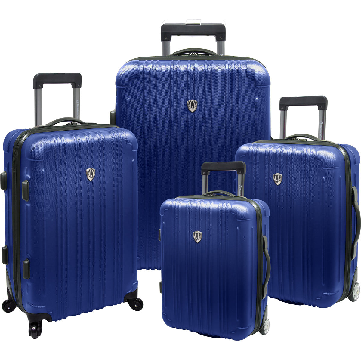 Traveler's Choice New Luxembourg 4 Piece Hardside Expandable Spinner Luggage Set
