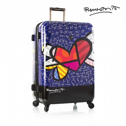 Heys America Multi-Britto Heart With Wings 21-Inch Carry-on Spinner Luggage