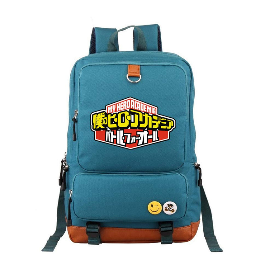 My Hero Academia College Student School Bag Traveling Casual Backpack