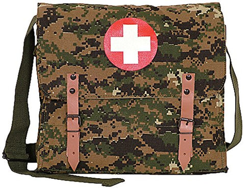 Fox Outdoor Products German Medic Bag, Digital Woodland
