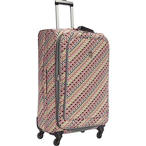 Jenni Chan Tiles 28 inch Upright Spinner, Multi
