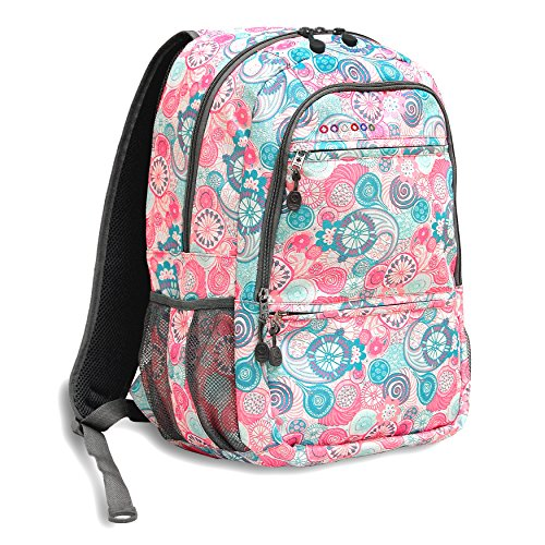 J World New York Dexter Laptop Backpack, Blue Raspberry, One Size