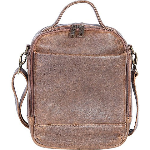 Scully 81St Aero Squadron Travel Tote (Antique Brown)