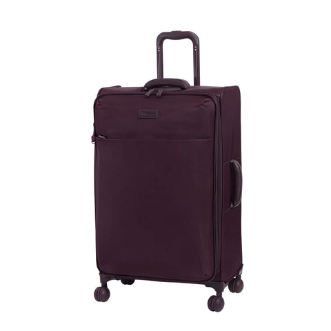 "it luggage 28"" Lustrous Softside Expandable Spinner, Aubergine"
