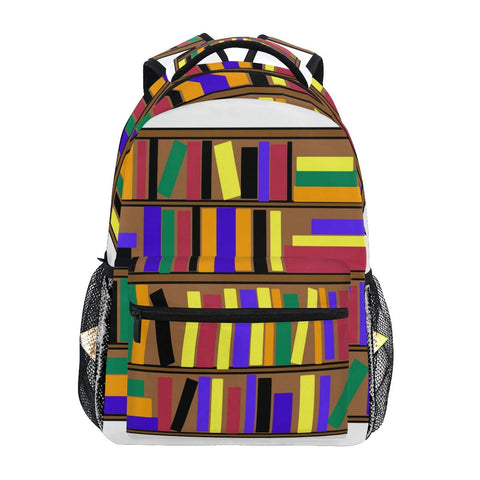 Backpack Bookshelf Clip Art School Bags Bookbags for Teen/Girls