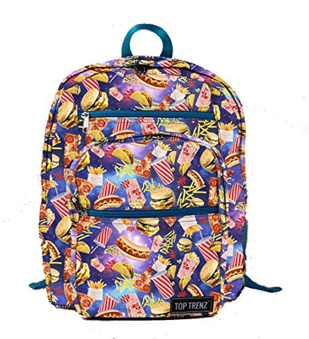 Top Trenz,Inc Fast Food Backpack