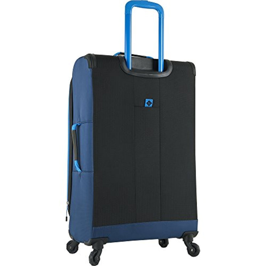 "Columbia Kiger 26"" Expandable Spinner Suitcase, COAL/NIGHT TIDE BLUE"