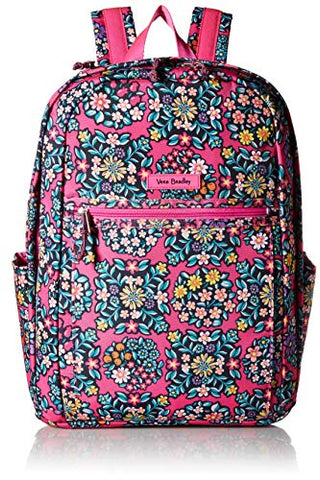 Vera Bradley Lighten Up Grand Backpack, Kaleidoscope Rosettes