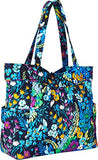 Vera Bradley Women's Pleated Tote Midnight Blues One Size