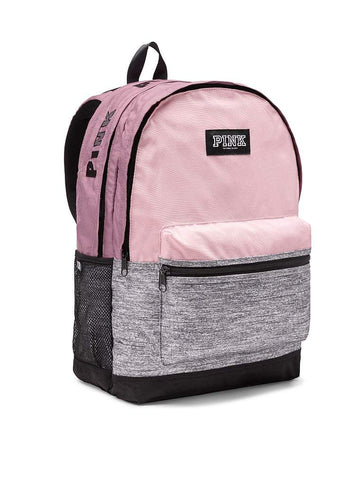 Victoria's Secret PINK Campus School Backpack, Chalk Rose/Gray Marl