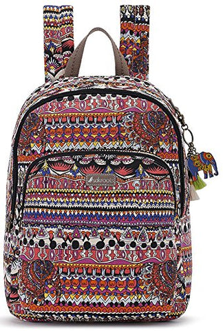 Sakroots Artist Circle Medium Backpack (One Size, Camel One World)