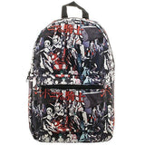 Knights Of Sidonia Characters Allover Sublimated Backpack