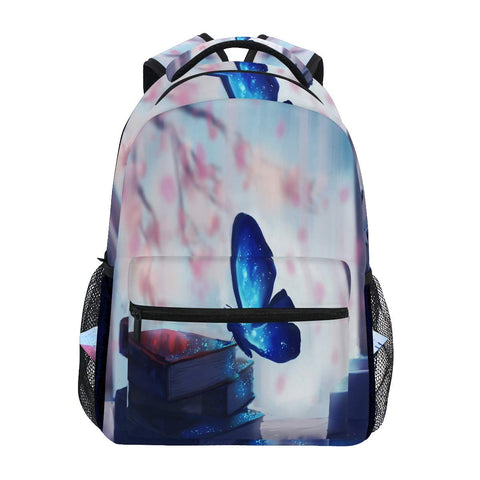 Backpack Butterfly Firework Star Shimmer? School Bags Bookbags for Teen/Girls