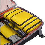 eBags Pack-it-Flat Hanging Toiletry Kit for Travel - (Canary)
