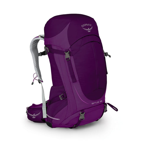 Osprey Packs Sirrus 36 Women's Hiking Backpack, Ruska Purple, X-Small/Small