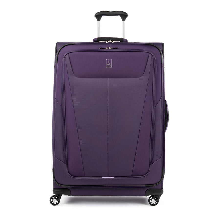 "Travelpro Maxlite 5 Lightweight Checked Large 29"" Expandable Softside Luggage Imperial Purple, 29-inch"