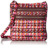Vera Bradley Triple Zip Hipster, Houndstooth Tweed