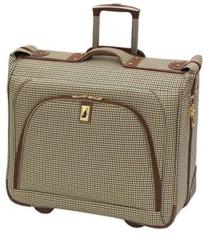 London Fog Cambridge 44 Inch Wheeled Garment Bag, Olive