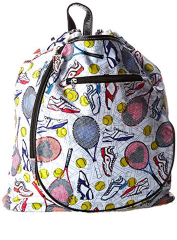 Sydney Love Tennis Backpack Carry On,Multi,One Size
