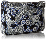 Vera Bradley Iconic Rfid Little Hipster, Snow Lotus