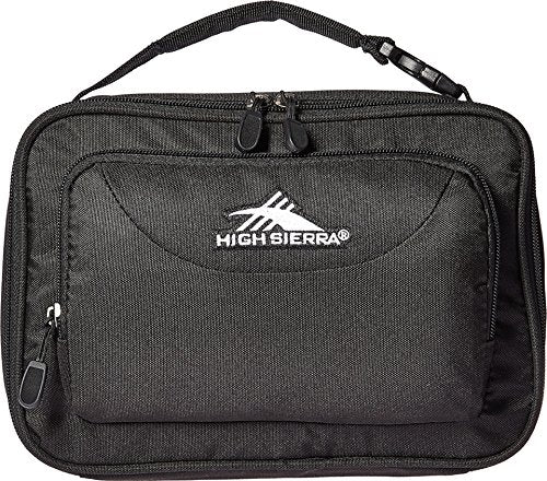 High Sierra Single Compartment Lunch Bag, Black
