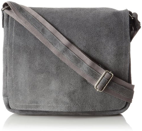 David King & Co. North South Laptop Messenger, Grey, One Size