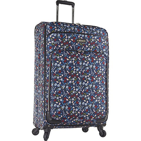 Ninewest Women's Packmeup 28 In Expandable Spinner, Blue Multifloral Print