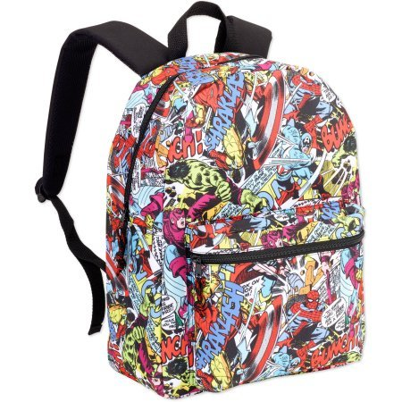 Marvel Comic 16 Backpack (Multi -2)