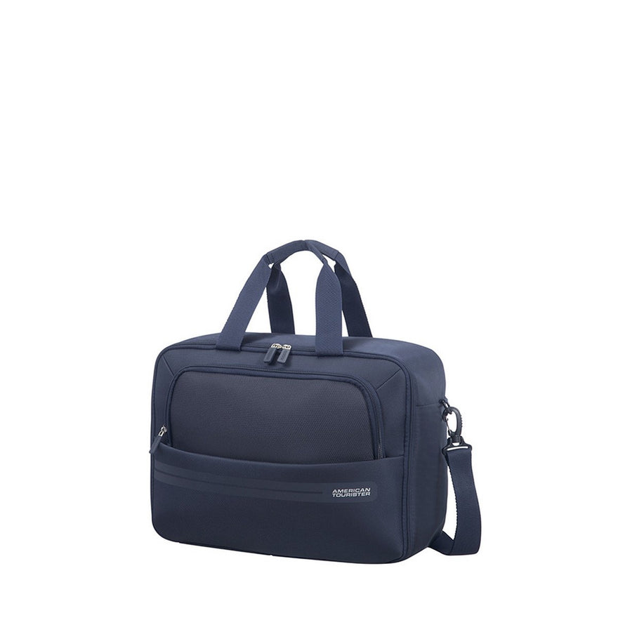 American Tourister Summer Voyager 3-Way Boarding Bag Hand Luggage, 40 Cm, 26 Liters, Midnight Blue