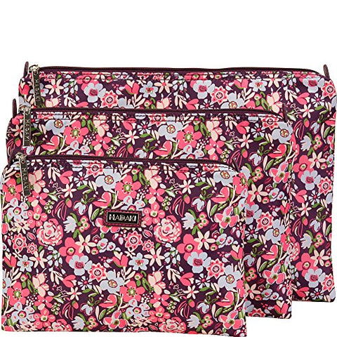 Hadaki Large Zippered Carry All (Blossoms)
