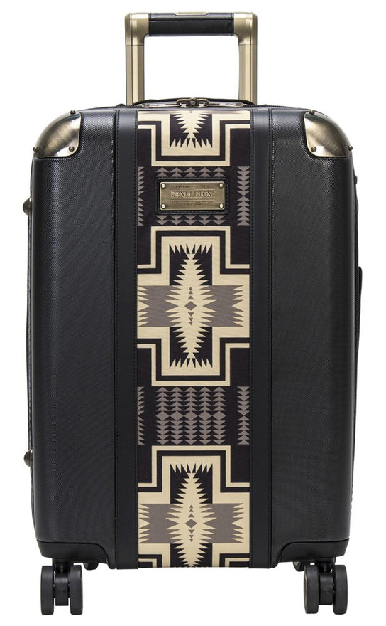 "Pendleton Harding 20"" Polycarbonate Spinner Carry On - Black, One Size"