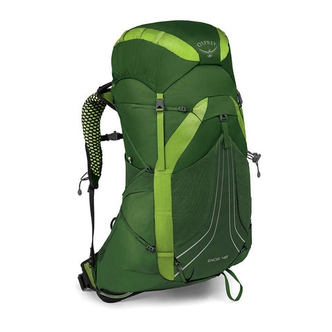 Osprey Packs Exos 48 Backpacking Pack, Tunnel Green, Medium