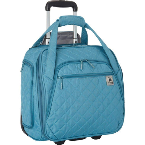 DELSEY Paris Rolling Tote, Teal