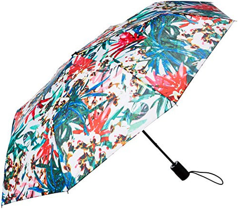 Nicole Miller Manual Super Mini Umbrella-810Nm-Trop, Print
