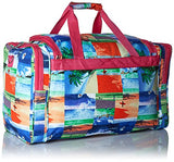 World Traveler Value Series Summer 22-inch Carry Duffel Bag, Surf, One Size