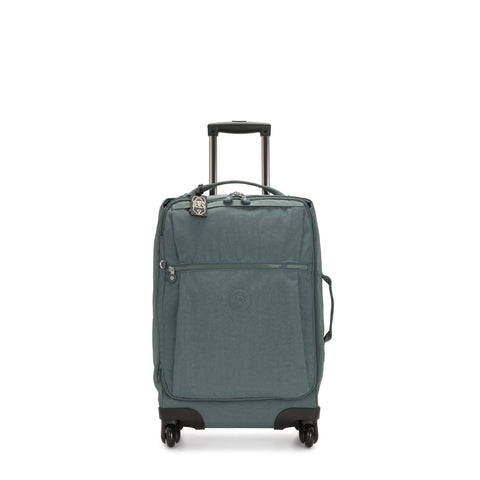 Kipling Unisex-Adult's Darcey Carry-On Wheeled Luggage, Light Aloe