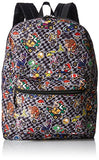 Nintendo Boys' Mario All Over Print Backpack, Black