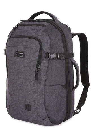 SWISSGEAR 6067 Getaway 2.0 Big Expandable Men's and Women's Ultra Spacious Laptop Backpack - Heather
